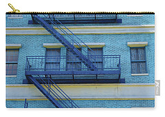 Carry-all Pouch featuring the photograph Ny 1936 by Marie Leslie