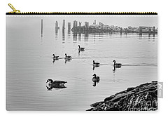 Nyack Geese  Carry-all Pouch by Chuck Kuhn