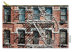 N Y C Apartment On 9th Ave Carry-all Pouch