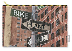 Nyc Broadway 2 Carry-all Pouch by Debbie DeWitt