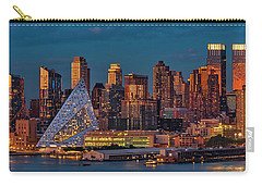 Carry-all Pouch featuring the photograph Nyc Golden Empire by Susan Candelario