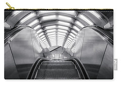 Carry-all Pouch featuring the photograph Nyc Subway Station by Susan Candelario