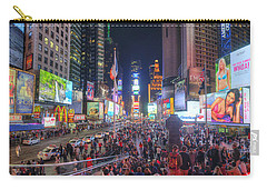 Nyc Times Square Panorama Carry-all Pouch