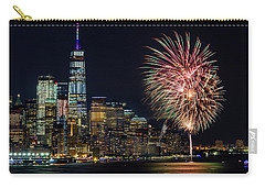 Carry-all Pouch featuring the photograph Nyc World Trade Center Pride by Susan Candelario