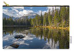 Carry-all Pouch featuring the photograph Nymph Lake by Dustin LeFevre