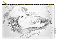 New Zealand White-capped Mollymawk Carry-all Pouch