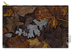 Oak And Maple Leaves Carry-all Pouch