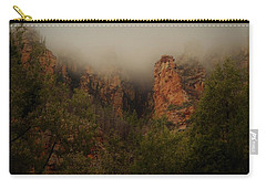 Carry-all Pouch featuring the photograph Oak Creek Canyon Arizona by Broderick Delaney