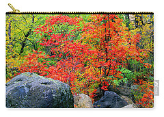Oak Creek Canyon Red Carry-all Pouch