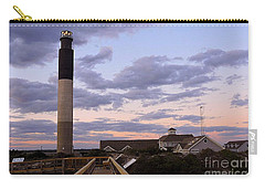 Oak Island Lighthouse Carry-all Pouch by Shelia Kempf