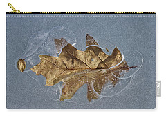 Oak On Ice Carry-all Pouch