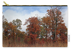 Oak Savanna In Fall Colors Carry-all Pouch