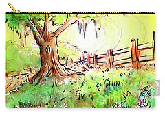 Oak Tree Hill Carry-all Pouch