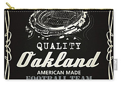 Oakland Raiders Whiskey Carry-all Pouch by Joe Hamilton