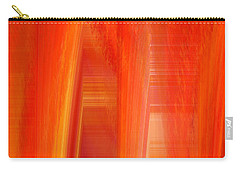 Oange Storm  Carry-all Pouch by Thibault Toussaint