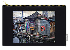 Carry-all Pouch featuring the photograph Oarhouse by Thom Zehrfeld