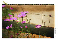 Oasis In The Desert Carry-all Pouch by Lana Trussell