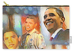 Obama - From Boy Scout To President Carry-all Pouch