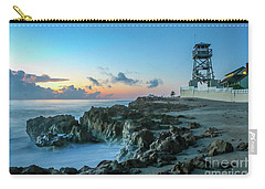 Observation Tower At Dawn Carry-all Pouch