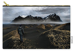 Observing The Beauty Of Iceland Carry-all Pouch