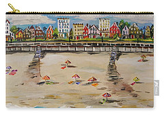 Ocean Ave By John Williams Carry-all Pouch