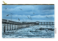 Ocean Beach Fishing Pier Carry-all Pouch