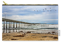 Ocean Beach Pier Fishing Airforce Carry-all Pouch