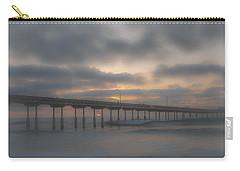 Ocean Beach Pier San Diego Ca Carry-all Pouch by Bruce Pritchett