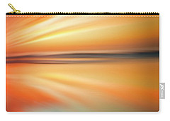 Ocean Beach Sunset Abstract Carry-all Pouch