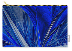 Carry-all Pouch featuring the photograph Ocean Blue by Geraldine DeBoer