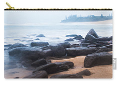 Carry-all Pouch featuring the photograph Ocean Calm  by Parker Cunningham