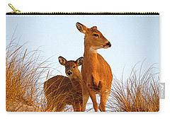 Ocean Deer Carry-all Pouch by  Newwwman