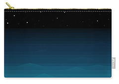 Ocean - Elements - Starry Night Carry-all Pouch