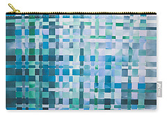 Carry-all Pouch featuring the mixed media Ocean by Jan Bickerton