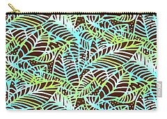 Ocean Leaves Key West Carry-all Pouch