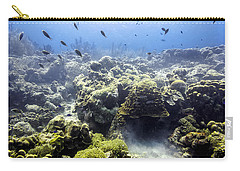 Carry-all Pouch featuring the photograph Ocean Light II by Perla Copernik