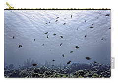 Carry-all Pouch featuring the photograph Ocean Light by Perla Copernik