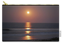 Ocean Moon In Pastels Carry-all Pouch