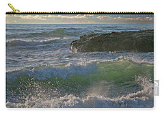 Crashing Waves Carry-all Pouch by Elvira Butler