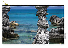 Ocean Rock Formations Carry-all Pouch