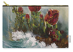 Ocean Rose Carry-all Pouch