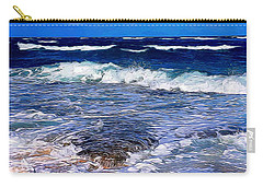Ocean Scene In Abstract 14 Carry-all Pouch