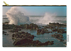 Ocean Spray Carry-all Pouch by Billie-Jo Miller