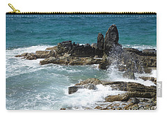 Ocean Spray Mid-air Carry-all Pouch by Margaret Brooks