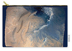 Carry-all Pouch featuring the painting Ocean by Steve Karol