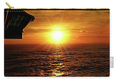 Ocean Sunset Carry-all Pouch by Sue Melvin