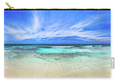 Carry-all Pouch featuring the photograph Ocean Tranquility, Yanchep by Dave Catley
