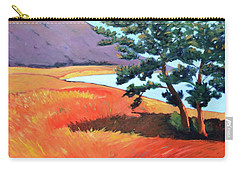 Carry-all Pouch featuring the painting Ocean View by Gary Coleman