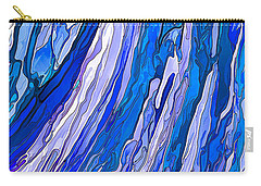 Ocean Wave Carry-all Pouch by ABeautifulSky Photography