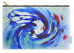 Ocean Wave Watercolor Carry-all Pouch